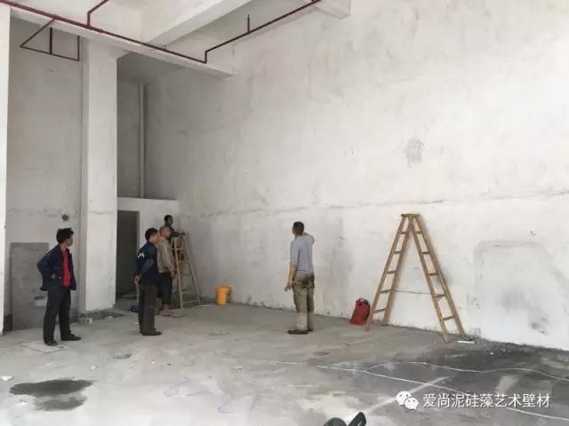 广东清远英德爱尚泥硅藻泥加盟店装修效果图